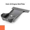 2007-2018 Hemi Wrangler Engine Skid Plate - Punk'n Orange Gloss