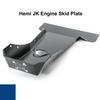 2007-2018 Hemi Wrangler Engine Skid Plate - Ocean Blue Gloss