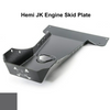 2007-2018 Hemi Wrangler Engine Skid Plate - Granite Crystal Gloss