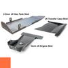 2007-2018 Hemi 2-Door Wrangler - Complete Skid System - Punk'n Orange Gloss