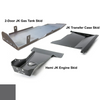 2007-2018 Hemi 2-Door Wrangler - Complete Skid System - Granite Crystal Gloss