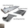 2007-2018 Hemi 4-Door Wrangler - Complete Skid System - Bare Steel