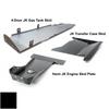 2007-2018 Hemi 4-Door Wrangler - Complete Skid System - Black Texture