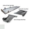 2007-2018 Hemi 4-Door Wrangler - Complete Skid System - White Gloss