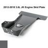 2012-2018 3.6L Pentastar Wrangler Engine Skid Plate - Granite Crystal Gloss