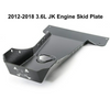 2012-2018 3.6L Pentastar 2-Door Wrangler - Complete Skid Plate System - Black Texture