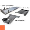 2012-2018 3.6L Pentastar 2-Door Wrangler - Complete Skid Plate System - Punk'n Orange Gloss