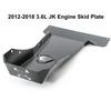 2012-2018 3.6L Pentastar 4-Door Wrangler - Complete Skid Plate System - Black Texture