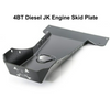 2007-2018 4BT Diesel Wrangler Engine Skid Plate - Black Texture