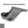 2007-2018 4BT Diesel 2-Door Wrangler - Complete Skid Plate System - Sting Gray Gloss