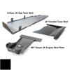 2007-2018 4BT Diesel 4-Door Wrangler - Complete Skid Plate System - Black Texture