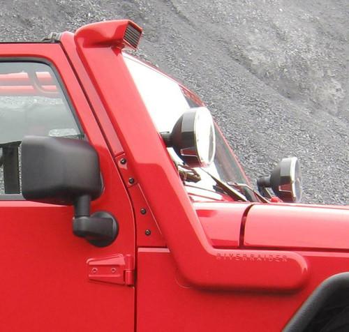 2007-2011 Wrangler River Raider Aluminum Body Snorkel