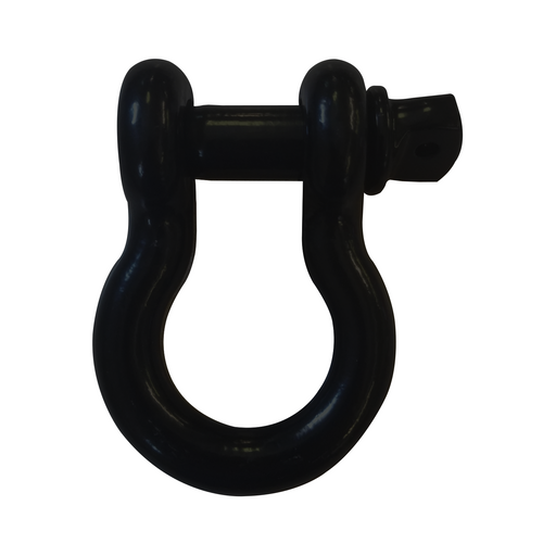 """3/4"""" D-Ring Shackle Pair - Black Texture"""