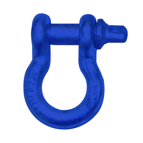 "3/4"" D-Ring Shackle Pair - Ocean Blue Gloss"