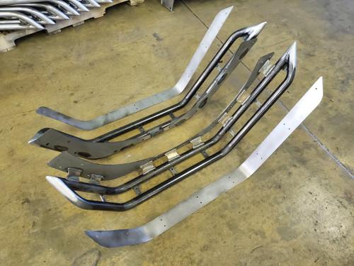 2018-Present Wrangler Rear Tube Fender Set - Bare Steel