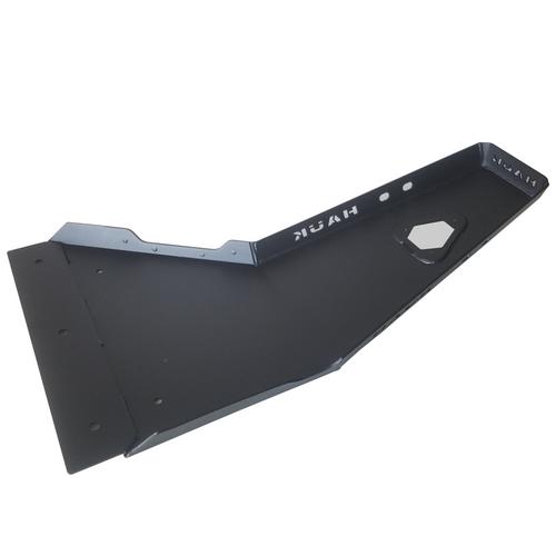 2018-Present 4-Door Wrangler/Gladiator 3.6L Engine Skid Plate - Black Texture