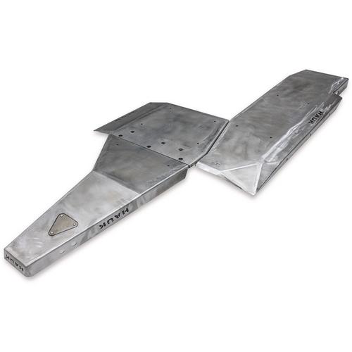 2018-Present 3.6L 4-Door Wrangler Complete Skid Plate System - Bare Steel