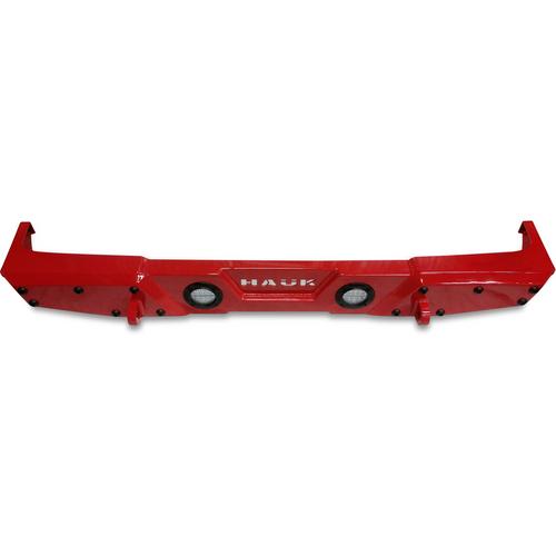 2018-Present Wrangler Predatör Series Rear Bumper - Firecracker Red Gloss