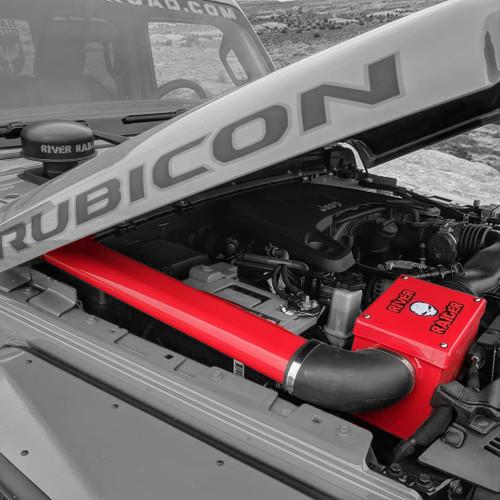2018-Present 3.6L Wrangler/Gladiator Expedition Snorkel - Firecracker Red Gloss