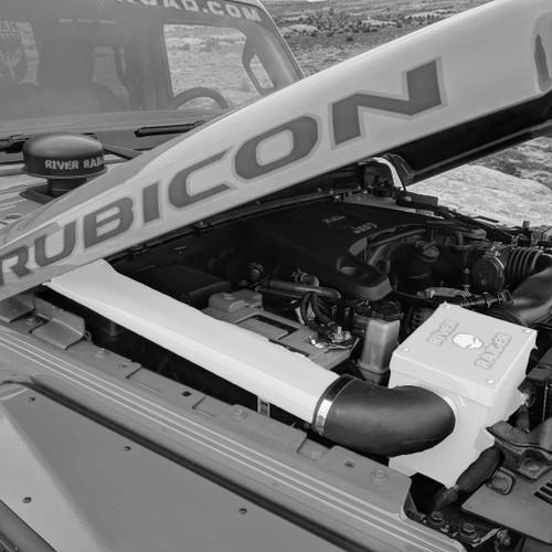 2018-Present 2.0L Turbo Wrangler/Gladiator Expedition Snorkel - White Gloss