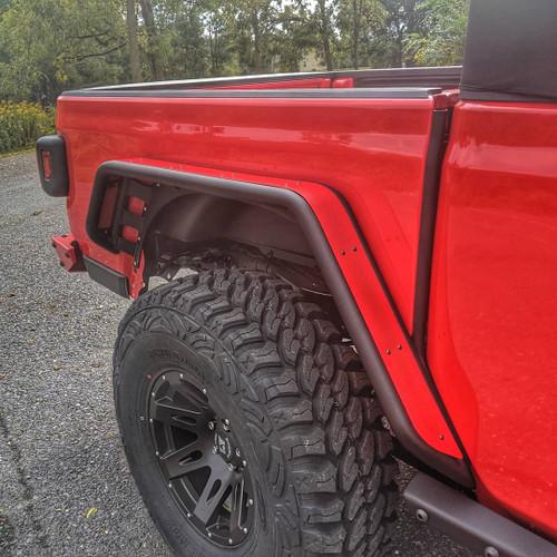 2019-Present JT Gladiator Rear Fender Set - Firecracker Red Gloss