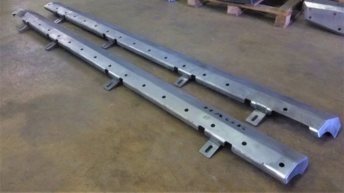 2019-Present JT Gladiator Rock Sliders - Bare Steel