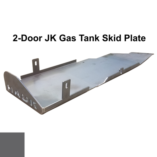 2007-2018 2-Door Wrangler Gas Tank Skid Plate - Granite Crystal Gloss