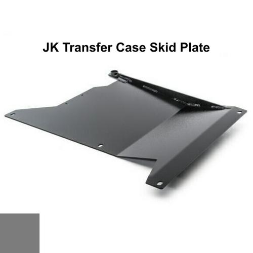 2007-2018 Wrangler Transfer Case Skid Plate - Sting Gray Gloss