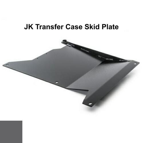 2007-2018 Wrangler Transfer Case Skid Plate - Granite Crystal Gloss