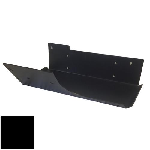 2007-2018 Wrangler Air Tank/Evap Skid Plate - Black Gloss