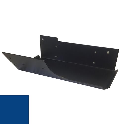 2007-2018 Wrangler Air Tank/Evap Skid Plate - Ocean Blue Gloss