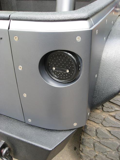 2007-2018 2-Door Wrangler Bomb-Proof Corner Armor