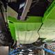 2018-Present 2-Door Wrangler Gas Tank Skid Plate - Bare Steel