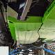 2018-Present 2-Door Wrangler Gas Tank Skid Plate - White Gloss