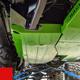 2018-Present 2-Door Wrangler Gas Tank Skid Plate - Firecracker Red Gloss