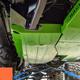 2018-Present 2-Door Wrangler Gas Tank Skid Plate - Punk'n Orange Gloss