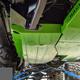 2018-Present 2-Door Wrangler Gas Tank Skid Plate - Granite Crystal Gloss