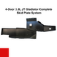 2019-Present 3.6L JT Gladiator Complete Skid System - Firecracker Red Gloss