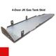 2007-2018 4-Door Wrangler Gas Tank Skid Plate - Firecracker Red Gloss