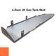 2007-2018 4-Door Wrangler Gas Tank Skid Plate - Punk'n Orange Gloss