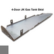 2007-2018 4-Door Wrangler Gas Tank Skid Plate - Sting Gray Gloss