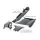2007-2011 3.8L 4-Door Wrangler - Complete Skid Plate System - Black Texture