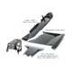 2007-2011 3.8L 4-Door Wrangler - Complete Skid Plate System - Sting Gray Gloss