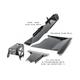 2007-2011 3.8L 4-Door Wrangler - Complete Skid Plate System - Billet Silver Gloss