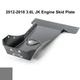 2012-2018 3.6L Pentastar 2-Door Wrangler - Complete Skid Plate System - Sting Gray Gloss