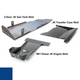2007-2018 4BT Diesel 2-Door Wrangler - Complete Skid Plate System - Ocean Blue Gloss