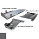 2007-2018 4BT Diesel 2-Door Wrangler - Complete Skid Plate System - Granite Crystal Gloss