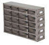 RDX452A Argos Technologies Upright Freezer Drawer Rack for Matrix Boxes, Holds 20 Boxes, Stainless Steel (1 Rack)