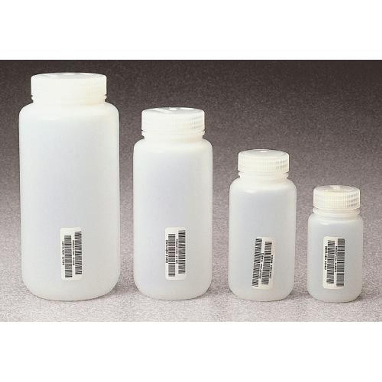 Thermo Scientific Nalgene N311-0250 Nalgene Wide-Mouth Natural HDPE Bottles  Bottle Wide Mouth Natl 250 ml (Case of 72)