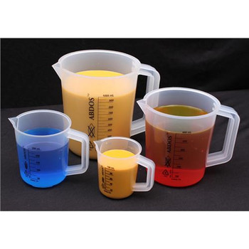 United Scientific Supplies P50808 Pitchers with Printed Graduations Pitchers w/ printed grad, PP 10000 mL  (Each of 1)